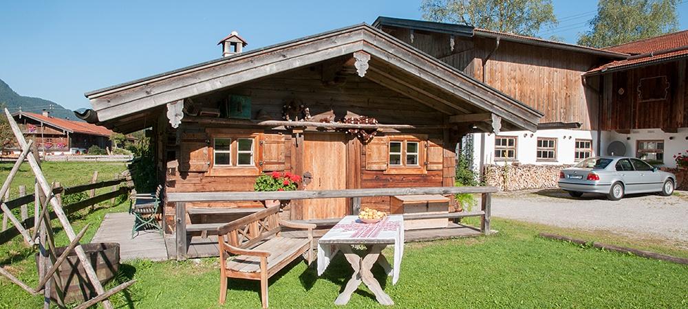 ... Garten Mit Hütte Festlhof In Rottach Egern Am Tegernsee ...